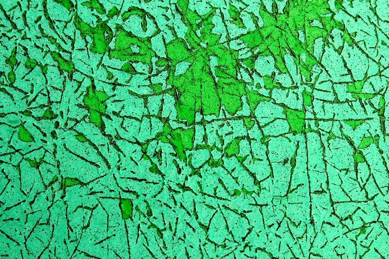 Opera visuale di Robedrto Alborghetti: Verde